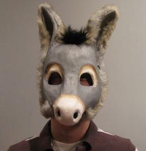 Diane Trapp ass head mask